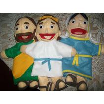 Gcg Lote 3 Titeres Biblicos Sagrada Familia Jesus Jose Maria