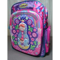 Mochila Escolar Distroller 3d (mochila, Lonchera Y Lapicera)