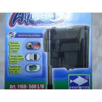 Filtro Cascada 100-200 Litros 500l/h P/agua Dulce/salada