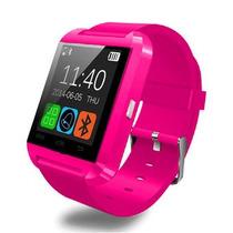 Smartwatch Reloj Inteligente Tactil Bluetooth Android Rosa