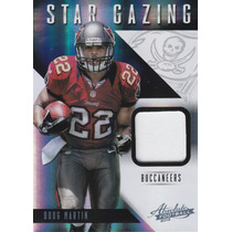 2012 Absolute Sg Rookie Prime Jersey Doug Martin 14/49 Bucs