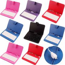 Funda Teclado Compatible Tablet Mx Gobierno Sep Micro Usb