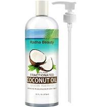 Aceite De Coco Fraccionado - 100% Puro Aceite Portador Para