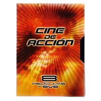 Cine De Accion, Ocho Peliculas En Dvd