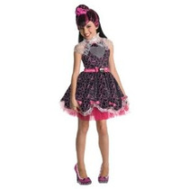 Monster High Dulce 1600 Deluxe Draculaura Vestuario Medio