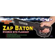 Poderoso Baston Electonico De Defensa Zap Con Linterna Maa