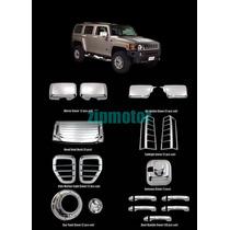 Hummer H3 Kit Completo En Cromo 2006 2007 2008 2009 2010 Sp0