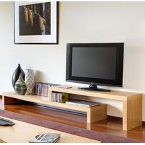 Mueble De Televisión De Madera. Garantía De 5 Años.