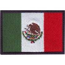 Mexico Negro Parches Bordados Banderas Paises Del Mundo