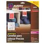Etiquetas Para Anaquel Ave-eti-22803 Upc: 072782228033 Clav