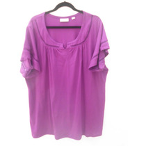 Tallas Extrass Blusa Color Lila Bellisma Avenida $650..00