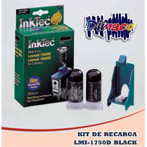 Kit De Recarga Lmi-1750d Black Para Lexmark 17g0050/ 16g005
