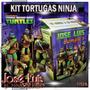 Tortugas Ninja Tmnt Invitaciones Kit Imprimible Jose Luis