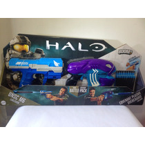 Pistolas Halo Battle Pack Boomco Mattel Paquete Con 2