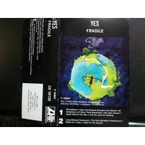 Yes: Fragile. Cassette Usado Edicion En Usa