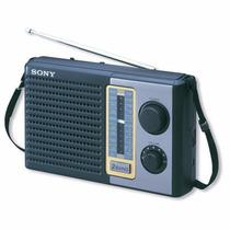 Radio Portatil Sony Am/fm Analogico Icf-f10 Bocina