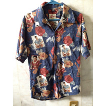 Camisa Elvis Presley Blue Hawaii Original Colección S Adulto