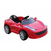 Carro Eléctrico Deportivo Montable Con Control