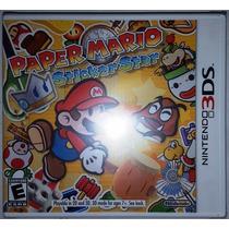 Paper Mario Sticker Star 3ds - Nuevo