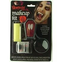Kit Colmillos De Vampiro (maquillaje Sangre) Vampire Fangs