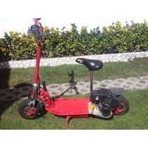 Patin Del Diablo Scooter Motorizado A Gasolina