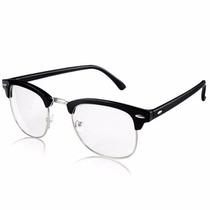Lentes Gafas Armazon Graduable Clubmaster Oftalmico Hipster