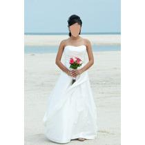 Vestido De Novia Usado Precioso Una Puesta Vv4