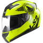Casco Moto Integral Ls2 Ff352 Rookie Fan Ngo/ama Talla M