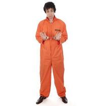 Prisionero De Vestuario - Orange Convicto Traje Caldera Del