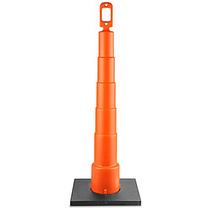 Cono Canalizador Naranja Con Base Para Trafico De 106 Cm