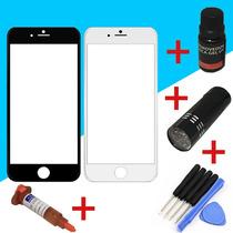 Kit De Instalacion Cristal Iphone 6,gel Uv+removedor+lampara
