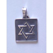 Dije Estrella De David En Plata 925, Judaismo, Judio, Tora