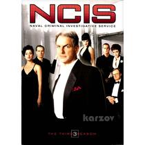 Ncis Criminologia Naval, Temporada 3 Tres, Importacion, Dvd