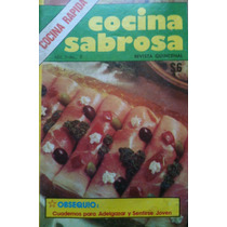 Cocina Sabrosa -recetas Cocina Rápida- Envío Gratis!