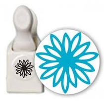 Scrapbook Perforadora Martha S Papel Punch Flor Crisantemo