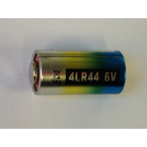 Una Batería / Pila 4lr44 6v. Alcalina Empaque Blister.