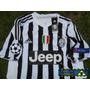 Juventus Local 2016 Con Parches Champions League Italia ¡¡