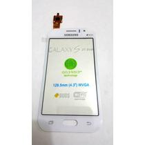 Pantalla De Cristal Touch Galaxy J1 Ace J110m Blanco J10