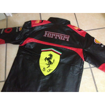 Chamarra Escuderia Ferrari Vinipiel