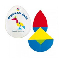 Tangram Oval 1 Juego Material Didactico