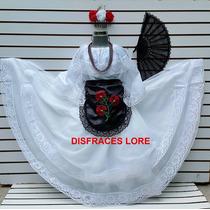 Disfraz Vestido Veracruz Tipico Regional Veracruzana Jarocha