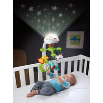 Movil Para Cuna Con Proyector 3 En 1 Fisher Price