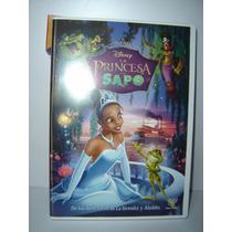 Dvd La Princesa Y El Sapo Disney