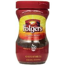 Folgers Classic Grano De Café Instantáneo 8 Oz 3 Contador