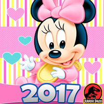 Minnie Mouse Baby Kit Imprimible Mimi Bebe Invitaciones 2017