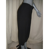 Pantalon Color Negro Talla 10 Marca H&m