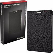 Funda Original Flip Case Para Blackberry Passport Silver