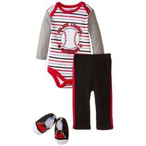 Bon Bebe Bebé-niños Recién Nacidos Béisbol Ace Bodysuit Soft