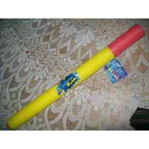 Gcg Juguete Pistola Bazuca Lanza Agua Water Pump Amarilla