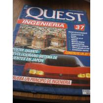 Revista Y Poster Quest Ingenieria N.37 Sistema Puentes Japón